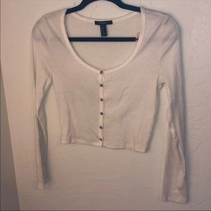 f21 button up long sleeve